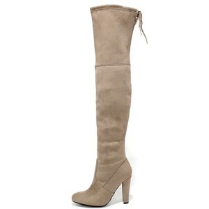 steve madden Gorgeous Velvet Over-The-Knee Boots